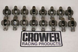 Crower Stainless Steel 1 6 Sbc Roller Rocker Arms Hot Rod Imca Ump Wissota Crane