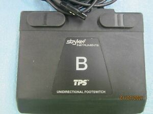 Stryker Tps Uni directional Foot Switch W cord Model No 5100 007 000