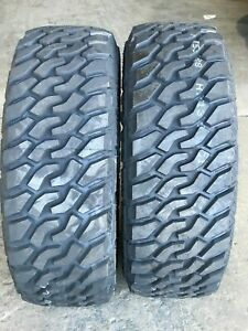 2 New Lt285 75r16 Lionsport Mt Mud Terrain Tires Lre 10ply Pair Of Two 285 75 16