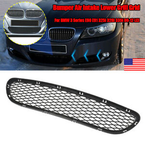 Front Lower Bumper Grille For Bmw 3 Series E90 E91 325i 328i 335i 2009 2012