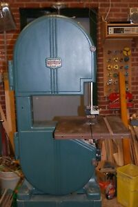 1939 Walker Turner 14 Cast Iron Bandsaw