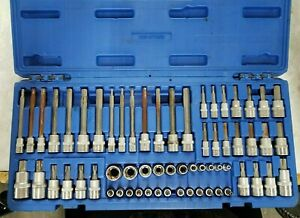 Cornwell Tools Cbsmth62s 62 Pc Master Star And Hex Bit Socket Set