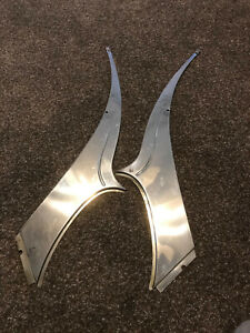 1955 Desoto Fireflite Roof Panel Stainless Steel Trim Pieces