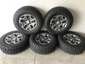 Jeep Wrangler Rubicon Oem Wheels And Tires