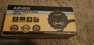 Azuno Digital Pressure Gauge And Tire Inflator 200 Psi