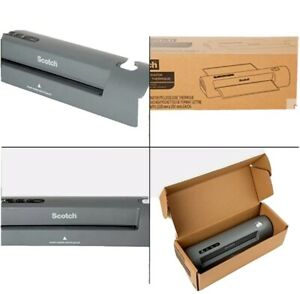 Scotch Thermal Laminator Use For 2 Roller System For A Professional Finish