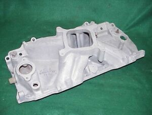Edelbrock Tm2r Big Block Chevy Intake Manifold 396 427 454 Rectangualr Port 2695