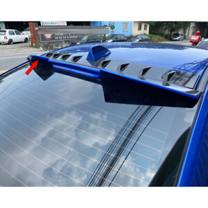 Unpainted For Subaru Wrx Sti 4th 4dr High V Type Rear Roof Spoiler 2015 2018