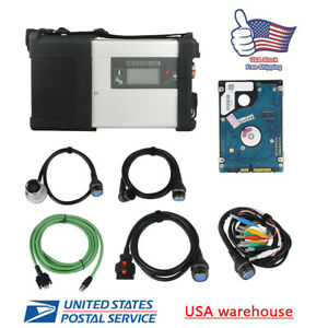 Hdd Mb Star C5 Sd Connect Compact 5 Multiplexer Diagnostic Tools Software Wifi
