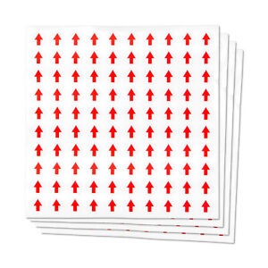 This Side Up Arrow Labels Shipping Labels 0 5 1200 Stickers Red
