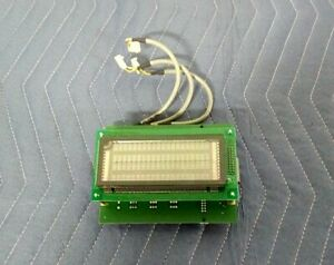 Zeag Parking Ag Pcb Circuit Board Part 113 0601 Rev B W futaba Display M204sd01a