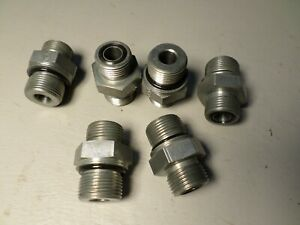 6 New John Deere Hydraulic Adapter Fitting O ring Front Loader