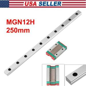 Mgn12h Linear Slide Rail Guide Sliding Miniature Guide Block Cnc 3d Printer