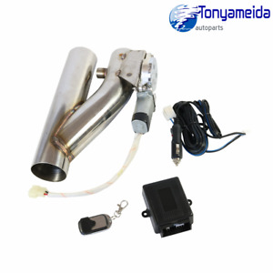 2 5 New Electric Exhaust Downpipe Cutout E Cut Out Valve Controller Remote Kit