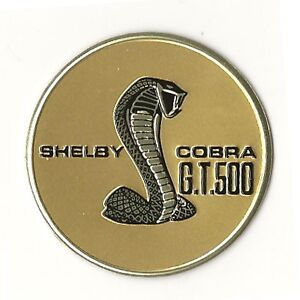 1967 Shelby Gt500 Steering Wheel Emblem Insert