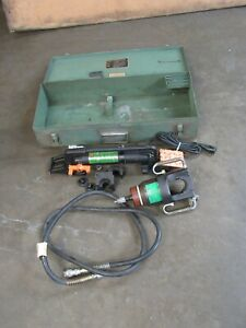 Burndy Hypress Hydraulic Crimping Tool Kit Y48bh Y34bp 2