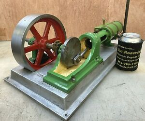 Reico Model Steam Engine By Norm Reisinger Very Nice Old Scale Model Large
