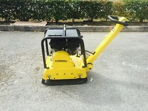 Cormac Hydraulic Reversible Plate Compactor C170r Gasoline 9hp Weight 375 Lb