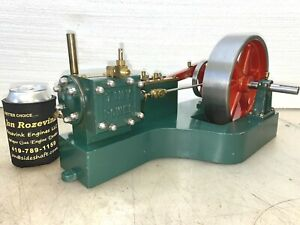 Tiny Power Model Steam Engine Very Nice Old Scale Model Large