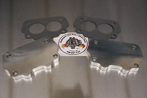 For Pontiac Gto Tri Power Rochester 2gc Big Carburetor Block Off Tuning Plates
