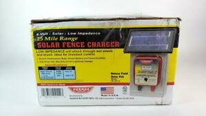 Parmak Df sp li 6 volt Battery operated 25 mile Electric Fence Charger Open Box