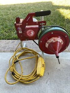 Spartan Model 81 Sewer Drain Machine Cleaner Snake Great Price