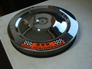 Ford Mustang 289 H P Air Cleaner Chrome Cover Free S h In Usa