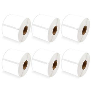 6 Roll 300 Shipping Labels 30256 For Dymo Labelwriters Printer 2 5 16 X 4
