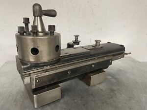 10 Atlas Craftsman Metal Lathe 6 Position Turret Tailstock Or 7 Vee Way