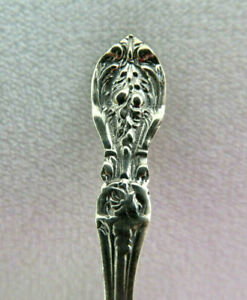 Vintage 925 Sterling Silver Salt Spoon 4