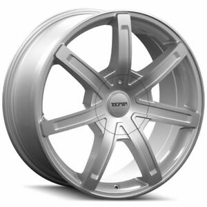 17x7 5 Touren 3265 Tr65 6x135 6x5 5 6x139 7 20 Silver Wheels Rims Set 4