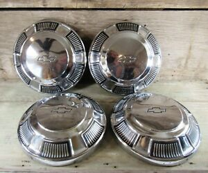 1968 1969 1970 Chevy Caprice Impala Bel Air Biscayne Dog Dish Hubcaps