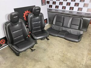 Chevrolet Camaro Ss 2010 2015 Oem Front Rear Power Leather Chair Seat Seats 40k