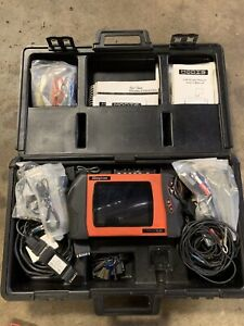 Snap On Modis Eems300 Diagnostic Tool Scanner Lots Of Accessories Keys Case