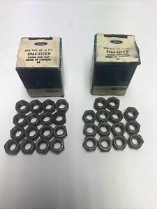 Nos 1969 1970 Ford Mustang Boss 302 Connecting Rod Nuts C9az 6212 b