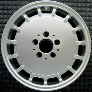 Mercedes benz 300sl All Silver 16 Inch Oem Wheel 1990 To 1993