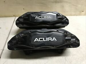 2006 08 Acura Tl Type S Front Calipers Brembo Set Of 2 Jdm Black