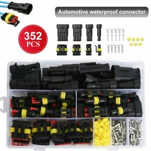 26 Sets 1 4 Pin Way Plug Kit Waterproof Car Auto Electrical Wire Connector Plug