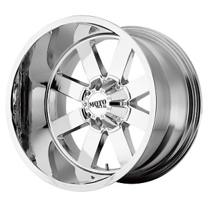 20 Inch 8x180 4 Wheels Rims Moto Metal Mo962 20x12 44mm Chrome