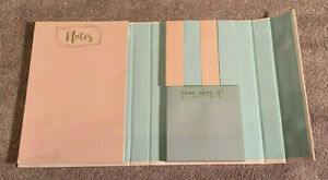 brand New Post It Note Stationery Set 3 Sizes 2 Colors blue pink b11