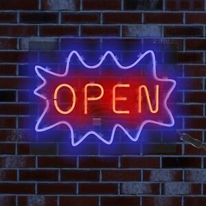 Diy Led Sign Neon Lights Home Shop Decoration Lamp Wall Light Open Business Room