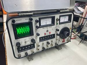 Ifr Fm am 1000 Radio Service Monitor Fully Functional With Working Battery