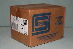 Spears 429 007 Coupling Socket Schedule 40 Pvc 50 Count Box New 3 4 Inch Usa