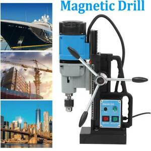 1800w Industrial Electric Magnetic Drill 13900n For Drilling Tapping 500r min Us