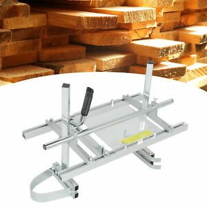 Portable Chainsaw Mill 20 24 Chain Saw Mill Aluminum Steel Planking Lumber