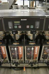 Bunn Commercial Dual Sh Dbc Double Coffee Machine W Hot Water Works Great