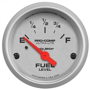 Autometer 4319 Ultra Lite Electric Fuel Level Gauge