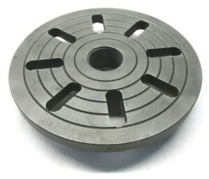7 1 2 Lathe Face Plate W 1 1 2 8 Threaded Mount