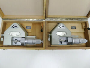 2pc lot_cary Dial Comparator Bench Micrometer Watchmakers Uhrmacher Mikrometer