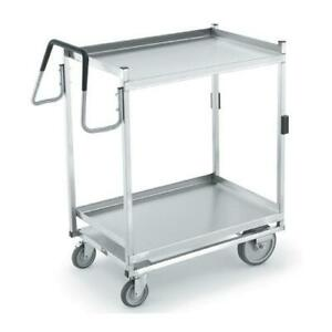 Vollrath 97207 23 In X 35 In 2 tier Stainless Steel Utility Cart